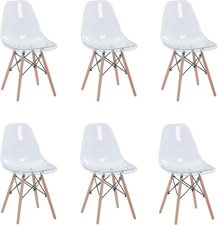 Uderkiny Lot de 4/6/8 chaises Chaises