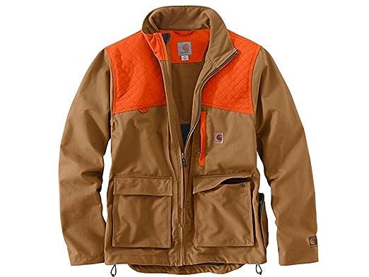 ef80ecbfba62a Carhartt Men's 102231 Upland Field Jacket - Unlined - Medium Regular -  Carhartt Brown