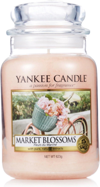 ** Yankee Candle Wax Tart Market Blossoms **