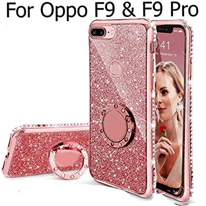 online store 05c18 f2167 Kc Soft Back Cover For Oppo F9 (Pink)