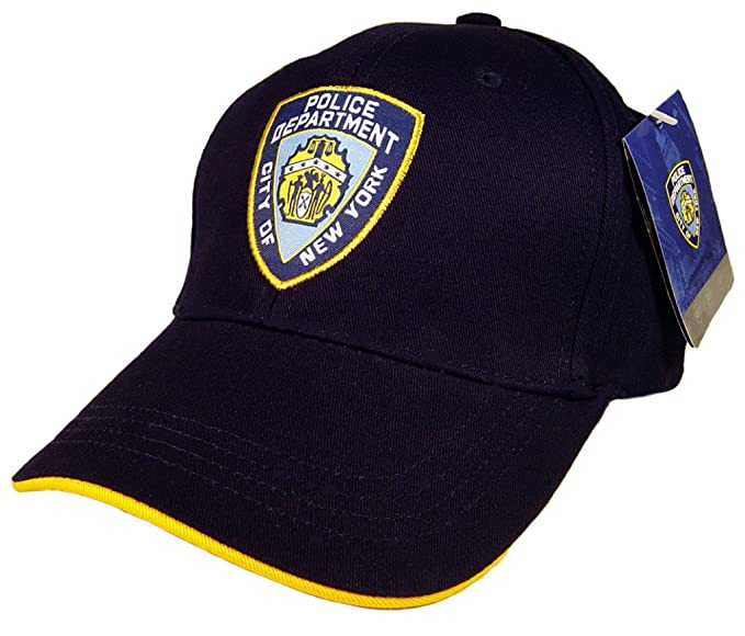 Amazon.com  Anti Crime Security NYPD Baseball Cap Hat Officially ... 50929d4d605