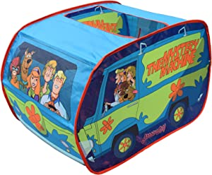 Sunny Days Entertainment Scooby Doo The Mystery Machine Pop Up Tent – Indoor Playhouse for Kids | Toy Gift for Boys and Girls
