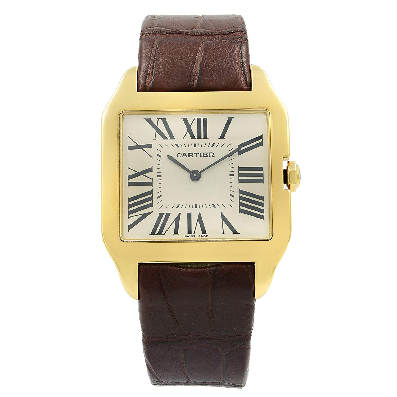 Cartier Santos Octagon Quartz Male Watch W2008751 (Certified Pre-Owned)