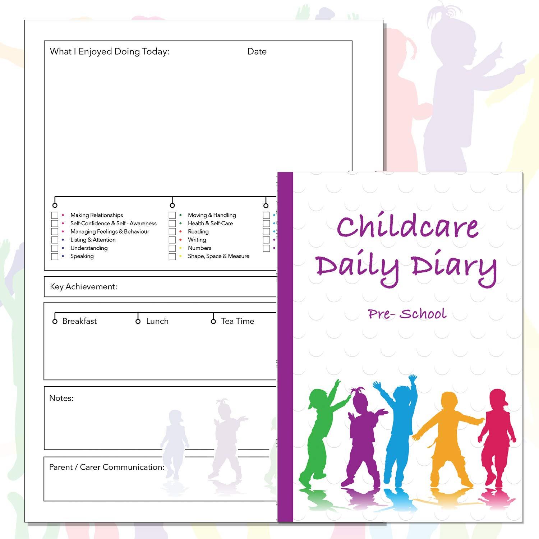 Agenda preescolar, para el cuidado de los niños, eslabones ...