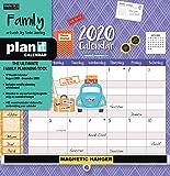 Wells Street by LANG WSBL Family 2020 Plan-It™ Plus (20997009162) Academic Wall Calendar (20997009162)