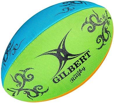Gilbert Rugby Unisex Multi Rugby Pelota de Playa, Multicolor ...