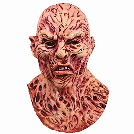 molezu freddy krueger latex mask a nightmare on elm street freddy krueger horror mask