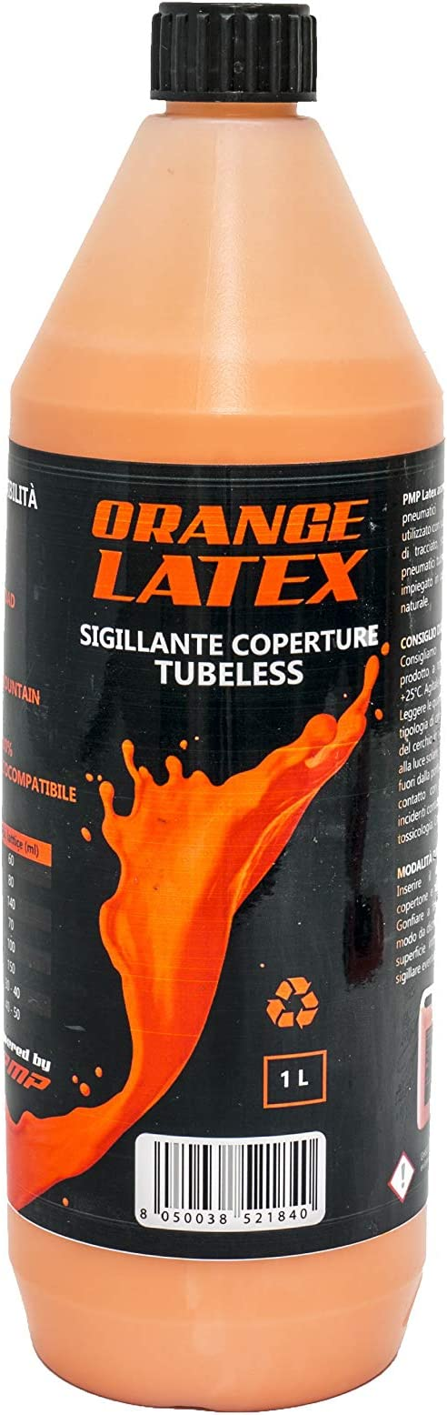 PMP Bike Orange Latex - Líquido sellador antipinchazos para ...