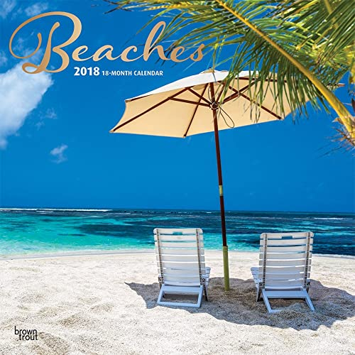 Beaches 2018 Wall Calendar