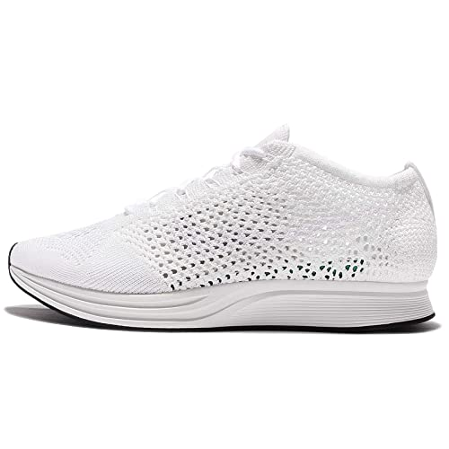 new concept 6fc50 3680b Nike Men Flyknit Racer Running (White White-sail-Pure Platinum) Size 11. 5  US  Buy Online at Low Prices in India - Amazon.in