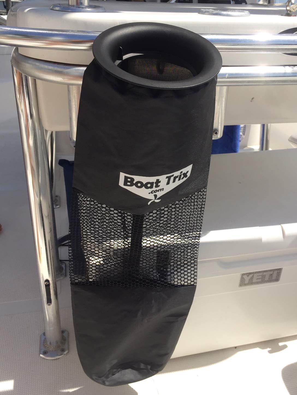 Boat Trash Bag - Medium Hoop Mesh Trash Bag for Your Boat