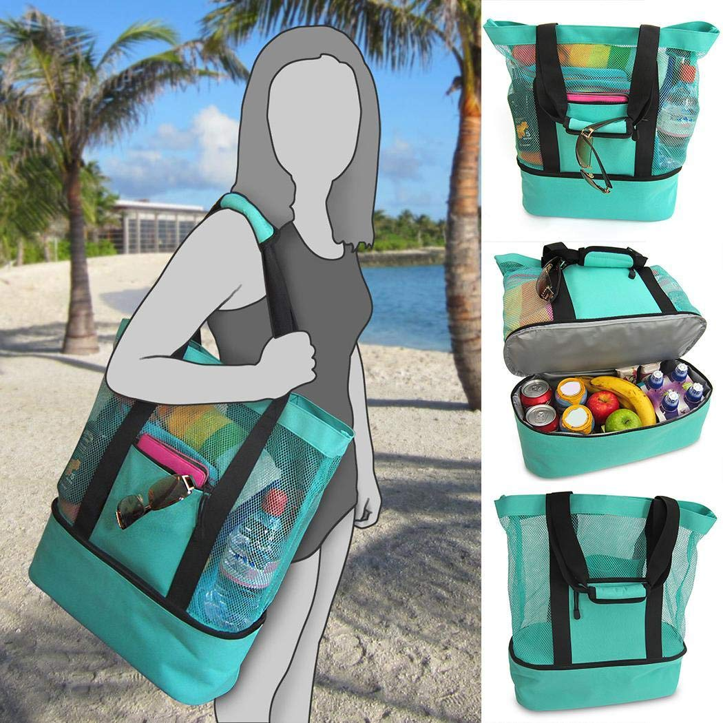 Biuday Multifunktions Picknick Strand Camping Isolationsbeutel Eisbeutel Brotdosen Wasserflaschen