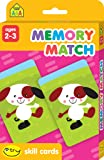 SCHOOL ZONE - Memory Match I Try Skill Cards, Ages 2 to 3, Visual Perception, Memory-Building, Reading Readiness, Fine Motor Skills, Eye-Hand Coordination, and More!