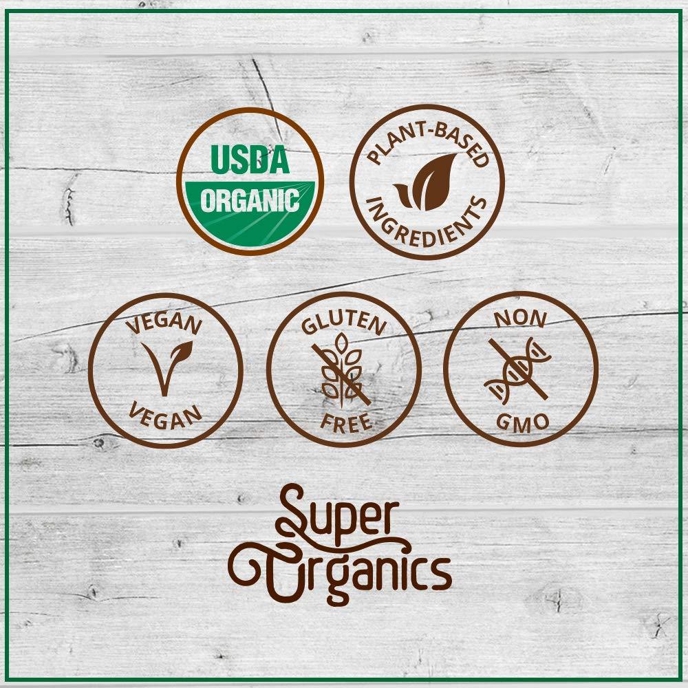 Super Organics Beauty Boost Green Tea Pods With Superfoods & Probiotics | Keurig K-Cup Compatible | Beauty Tea, Skin Care Tea | USDA Certified Organic, Vegan, Non-GMO Natural & Delicious Tea, 72ct by Super Organics (Image #7)