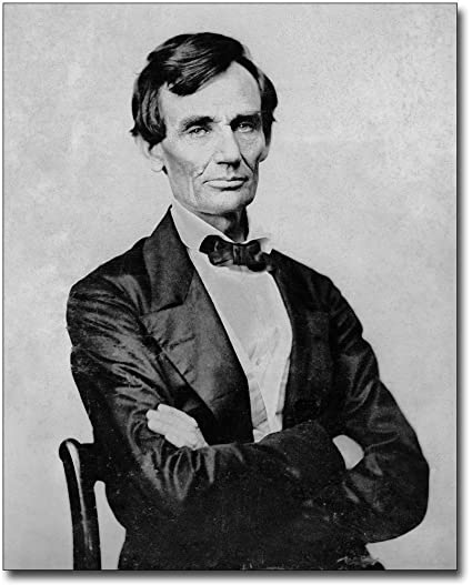 graphic about Printable Pictures of Abraham Lincoln identify : Younger Abraham Lincoln Portrait 11x14 Silver