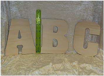 Kinderzimmer Holzbuchstabe Maxi Groß * Deko Buchstaben aus Holz zum ...