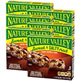 Nature Valley Granola Bars, Sweet and Salty Nut, Dark Chocolate Peanut & Almond, 6 Bars, (Pack of 6)