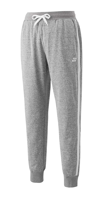 YONEX YM0014 - Pantalones de chándal (Talla L), Color Gris: Amazon ...