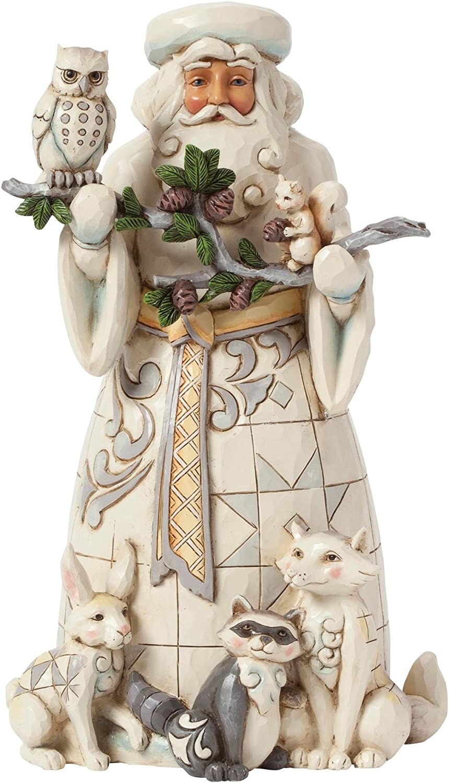 Heartwood Creek by Jim Shore Woodland Santa Claus Figurine Sculpture