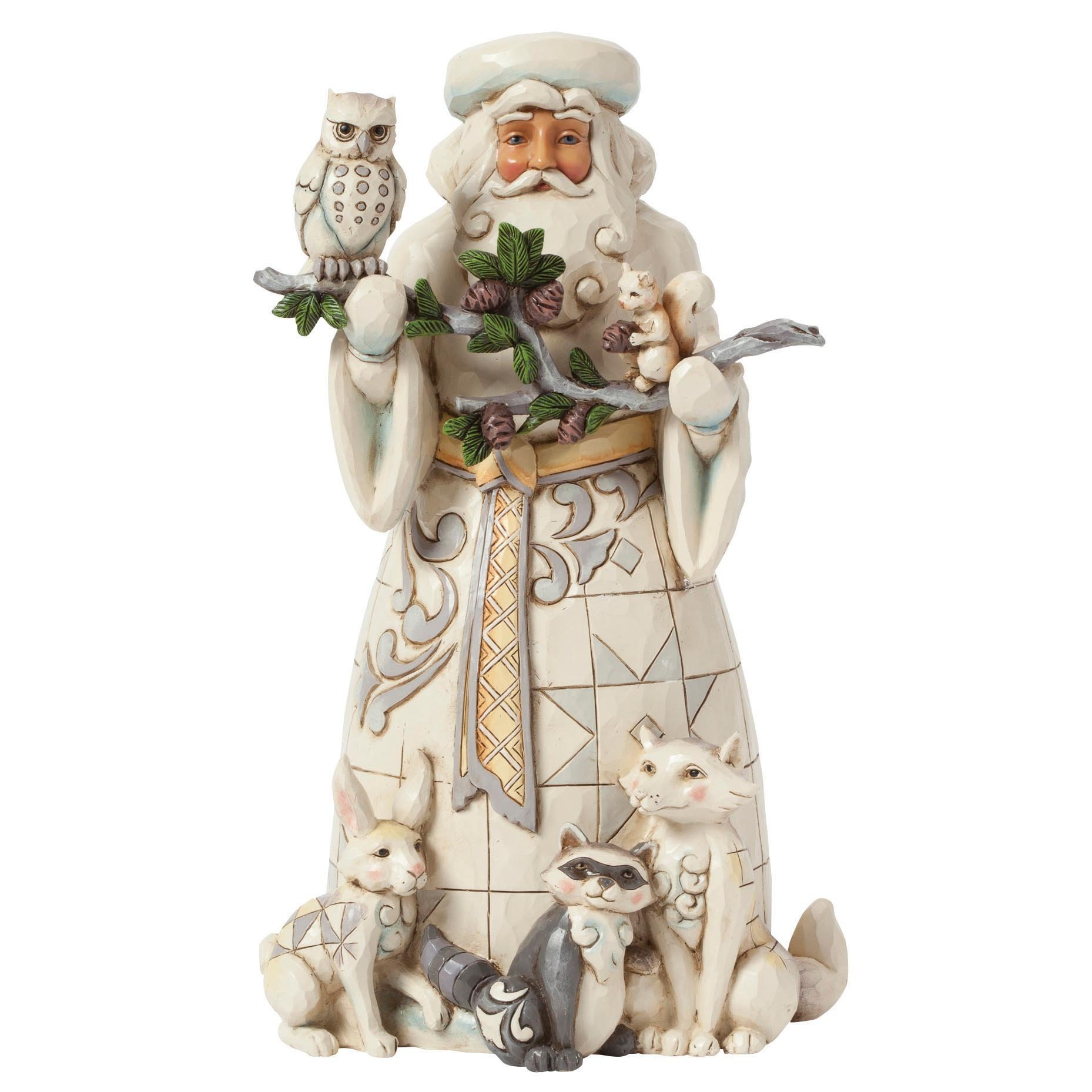Heartwood Creek by Jim Shore Woodland Santa Claus Figurine Sculpture by Jim Shore for Enesco