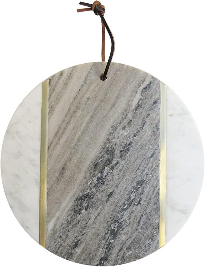 American Atelier 1810038 Marble Cutting Board White