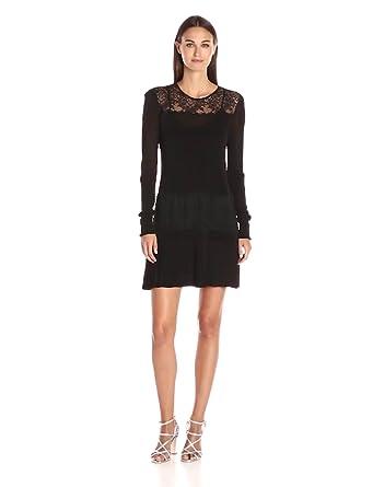 Rachel Zoe Women's Seraphina Fringe Dress, Black, X-Small