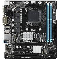 Asrock 760GM-HDV Socket AM3+ AMD 760G Micro ATX - Placa Base (DDR3-SDRAM, DIMM, 1066,1333,1800 MHz, Dual, 32 GB, AMD)