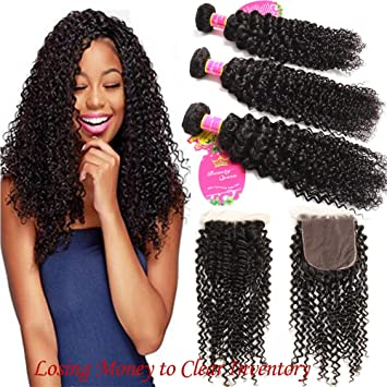 Human Hair Weaves Kind-Hearted March Queen Brazilian Curly Hair Weave Bundles #27 Honey Blonde Color 100% Human Hair 3 Bundles 10-24 Hair Extensions 100% Original Hair Extensions & Wigs