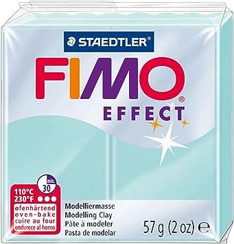 color transl/úcido azul Fimo 8020-374 Pasta de modelar