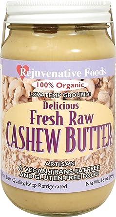 fresh-pure-raw Smooth cremoso anacardo mantequilla ...