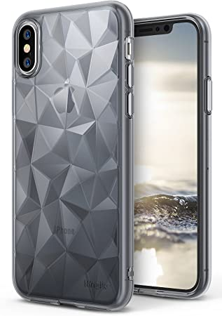 Ringke Funda Apple iPhone X [Air Prism] TPU con Diseño 3D ...