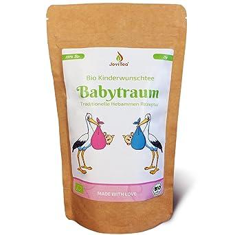 JoviTea® Babytraum Tee BIO – Traditionelle Rezeptur - spezielle Kräutermischung – aus kontrolliert biologischem Anbau. 100% n