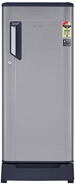 Whirlpool 215 L 3 Star Direct Cool Single Door Refrigerator  230 IMFRESH ROY 3S, German Steel  Refrigerators