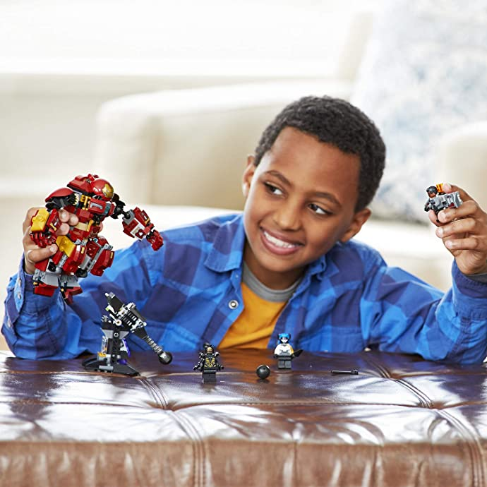 金盒特价 LEGO 乐高 76104 超级英雄系列 复仇者联盟 反浩克装甲 积木玩具 4.1折$12.34史低 海淘转运到手约¥117