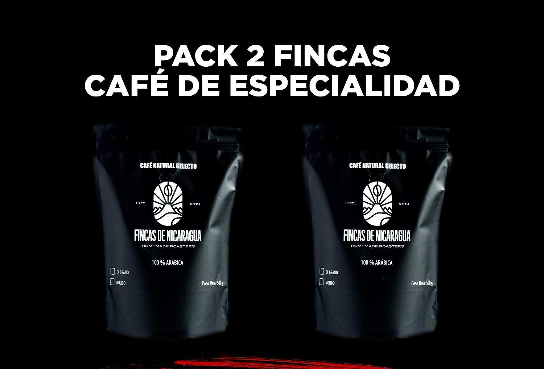 Café en grano Fincas de Nicaragua - Pack 1 kg (Finca la Verona - 500 gr + Finca las Mercedes - 500 gr). Tueste natural: Amazon.es: Alimentación y bebidas