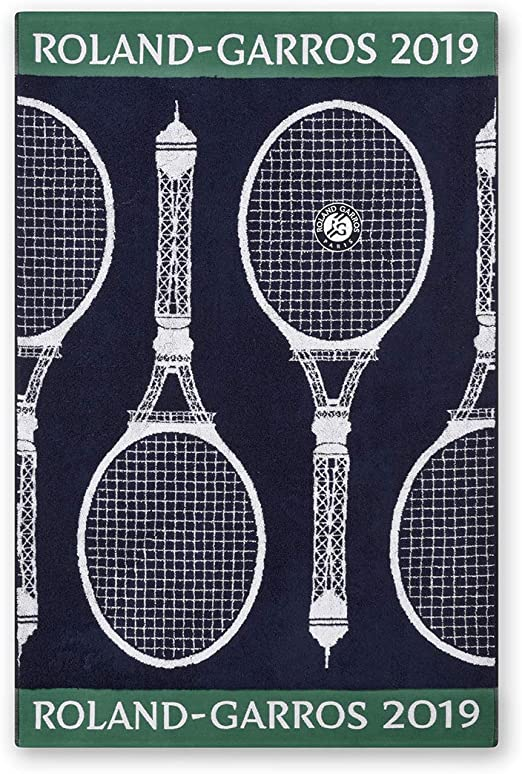 Roland Garros 2019 Player Towel Navy, blue, One size: Amazon.co.uk: Kitchen & Home