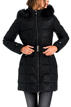 SALSA Abrigo largo con capucha