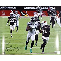 $169 » DK D.K Metcalf Autographed 16x20 Photo Seattle Seahawks The Rundown MCS Holo