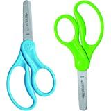 """Westcott 5"""" Hard Handle Kids Blunt Scissors 2Pk (13168)"""
