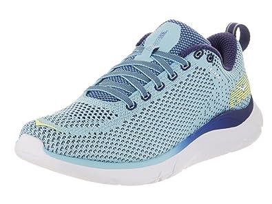 Hoka One 1019573-BTBP : One Women's Hupana 2 Blue Topaz/Blueprint Running  Shoe