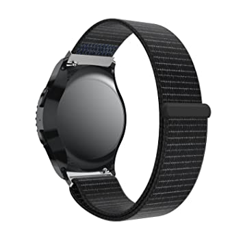 Bracelet de montre pour Samsung Gear S2 Cassic, Yustar en nylon de remplacement Band Bracelet de ...