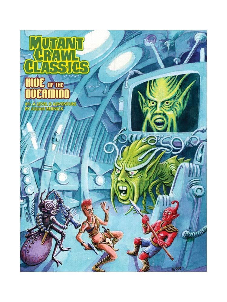 Goodman Games GMG6211 Mutant Crawl Classics #1: Hive of The ...