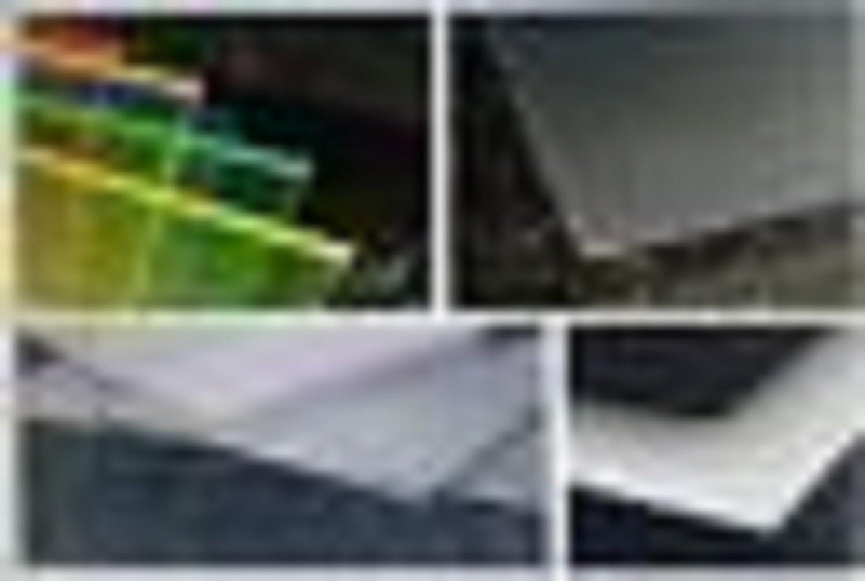 Platte PET-g farblos 2050 x 540 x 1,5 mm klar Sonderposten