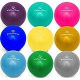 """Mini-balle de pilates »Balle« de #DoYourFitness / idéale pour le pilates, un auto-massage ciblé et ponctuel / haute qualité balle de massage des fascias 100% gel silicone """" longue-vie"""" / pour soulager les tensions et douleurs musculaires, stimuler les muscles fatigués favorise la circulation sanguine, le massage des bras jambes du dos des cervicales Dimensions : 18 cm à 33 cm de diamètre / EXCELLENTE QUALITÉ / disponible dans différentes tailles et couleurs"""