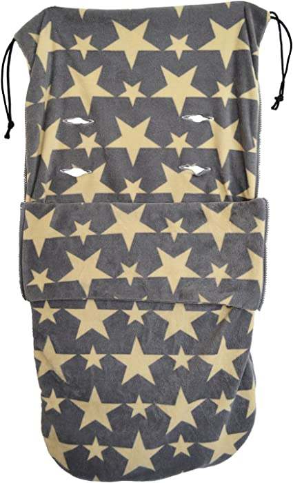 Grey Star Snuggle Summer Footmuff Compatible With Hauck Stroller Buggy Pram