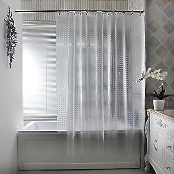 Haus U0026 Vorhang Duschvorhang, Wasserdicht Dicker Mehltau Duschvorhang  Badezimmer Wasserdichte Vorhang Senden Haken ( Farbe