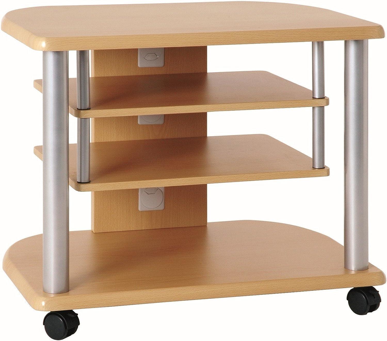 Haku Möbel 91700 - Mueble de televisor (Tubo de Acero, Aluminio y ...