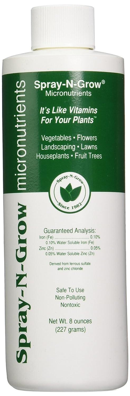 Spray-N-Grow 1CSNG8SPR Micronutrients, 8-Ounce