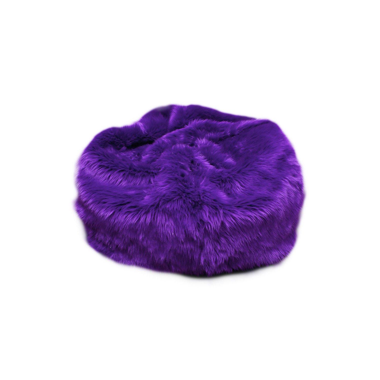 Amazon Fun Furnishings Beanbag Black Fuzzy Fur