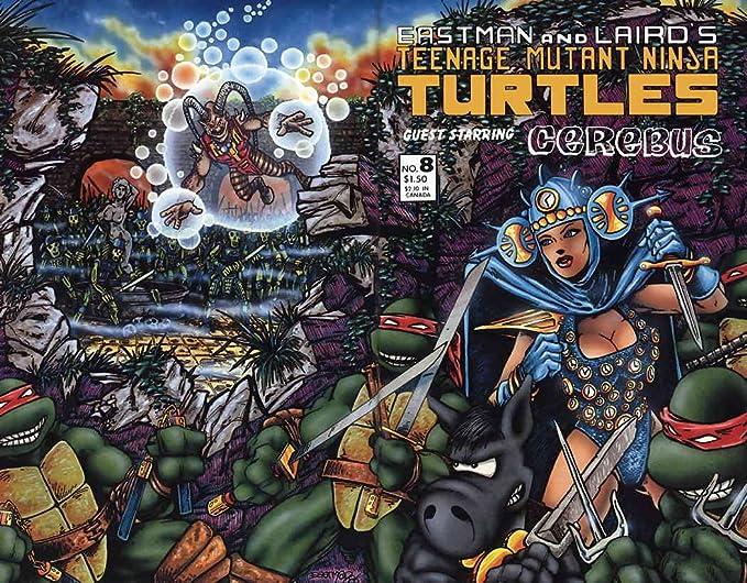 Amazon.com: Teenage Mutant Ninja Turtles (1st Series) #8 VF ...